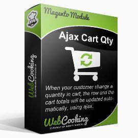 Ajax Cart Qty