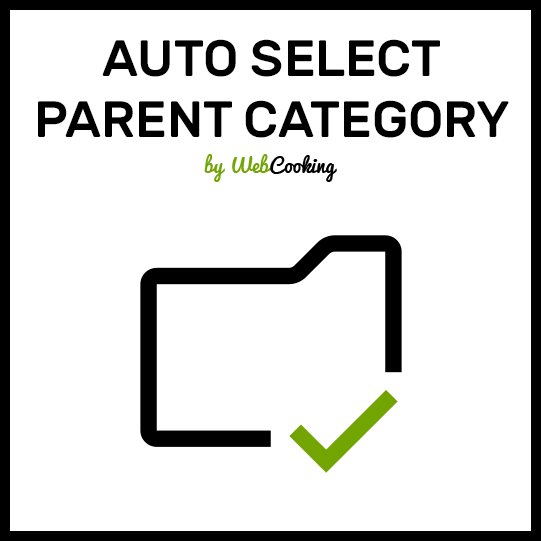 Auto Select Parent Category