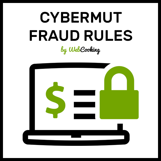 Cybermut fraud rules magento extension