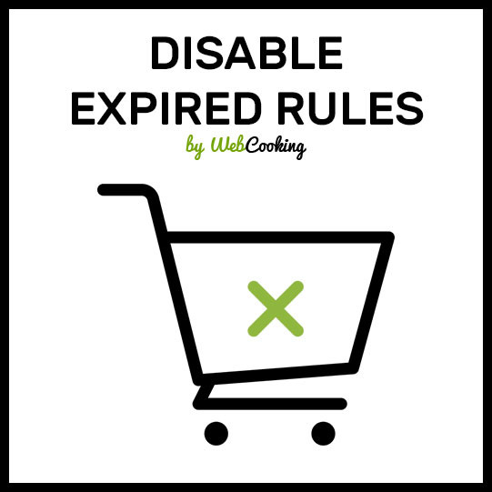 Disable Expired Rules for magento
