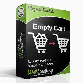 Magento Empty Cart