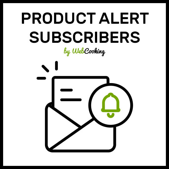 Product Alert Subscribers