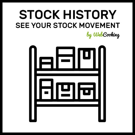 magento how to see stock history