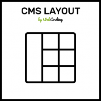 cms layout for magento
