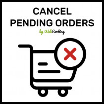 bulk cancel pending orders on magento