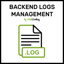 Magento2 backend log