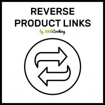magento reverse products links