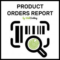 Product Orders Report for magento