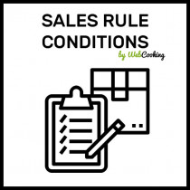 Make Sales Rules conditions on Magento