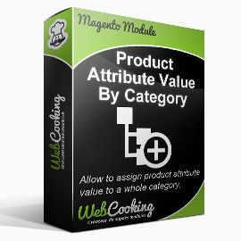 Product Attribute Value By Category