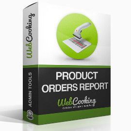 Product Orders Report