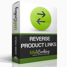 Reverse Product Links magento module