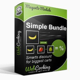 Simple Bundle Module for Magento