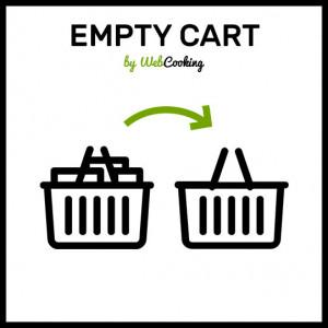 Magento how to Empty Cart