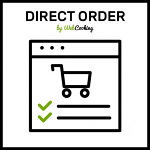 direct order magento (type the sku)