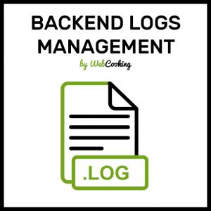 Magento2 backend log