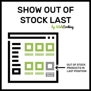 magento out of stock products