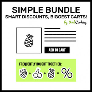 Magento Simple Bundle like Amazon