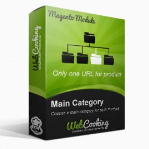 Main Category For Magento