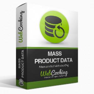 Mass Product Data