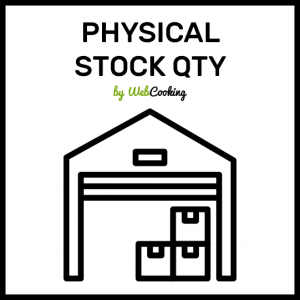 Physical Stock Qty for magento