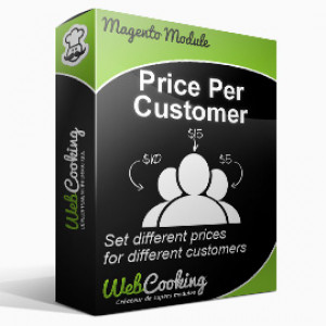 Magento Price Per Customer