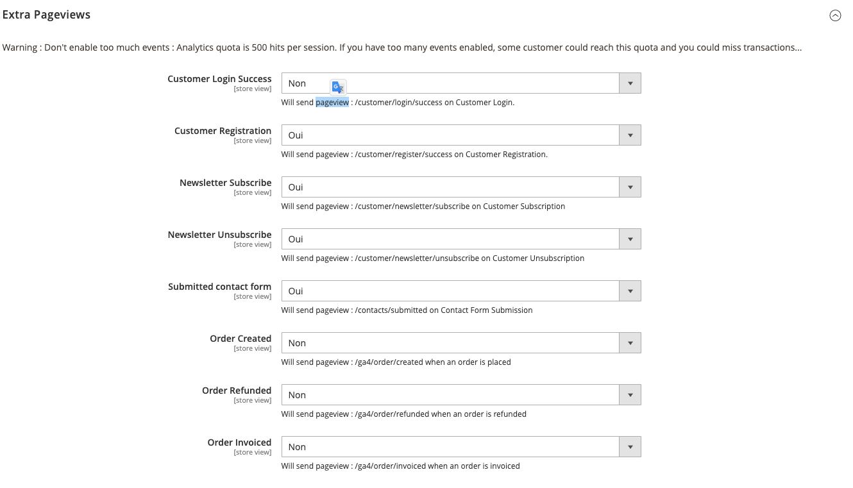 google analytics 4 - Extra pageviews - magento 2