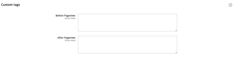 google analytics 4 - Custom tags - magento 2